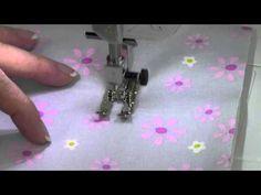 Bernina 350 33 Handlook Quilt Stitch - YouTube
