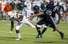 Miami Defeats Duke Off 8 Crazy Lateral Passes To Score Game-Winning TD As Time Expires | Complex