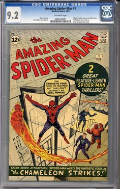 Amazing Spider-ma... ...can be yours! #comics    http://coloradocomics.com/products/amazing-spider-man-1-cgc-9-2?utm_campaign=social_autopilot&utm_source=pin&utm_medium=pin