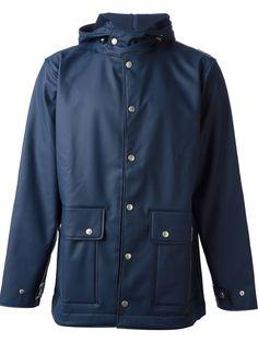 Blue Hooded Jacket - Farfecth