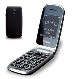 c3024f283db TTfone Pluto (TT600) Big Button Clamshell Flip Mobile Phone - Easy to Use  Simple