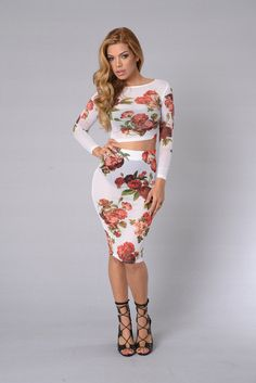 Spring Is In The Air Top   Fashion Nova