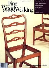 FINE WOODWORKING,1986 Sep/Oct- Making Chippendale Chairs; Jigsaw Puzzles  Find Magazine Back Issues at ivanhoe.ecrater.com. the ebay alternative for great deals! Shop Ecrater. Lowest Prices on magazines!