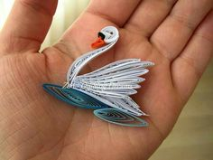 quilled swan - Google Search