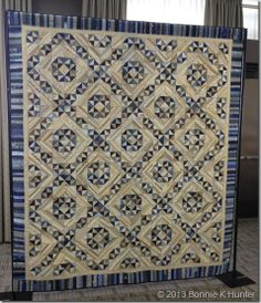 Jamestown Landing Quilt by Bonnie Hunter of Quiltville (Pattern in her String Fling book)