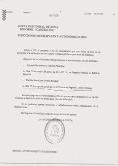 Tribuna Popular de Segorbe: SR. MAGDALENA, LA VERDAD SIEMPRE POR DELANTE