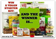 Announcing the Winner of the Vegan Starter Kit from Vegan Cuts