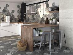 Old Street - Domus Iowa, Background Tile, Kitchen Dining, Dining Room, Old Street, Tile Design, Notting Hill, Tiles, Ohio