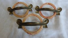 Vintage drawer pulls by KeysFinds on Etsy, $27.00