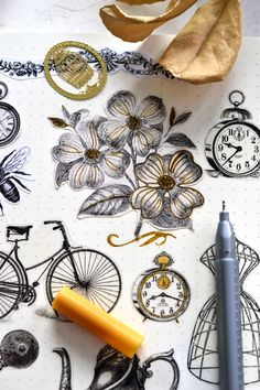 Learn how to make some amazing DIY vintage stickers using 3 types of paper .and some coffee (to give the stickers a beautiful, antiqued look) Crafts For Teens To Make, Diy Crafts To Sell, Sell Diy, Kids Diy, Easy Crafts, Easy Diy, Printable Crafts, Free Printables, Printable Vintage