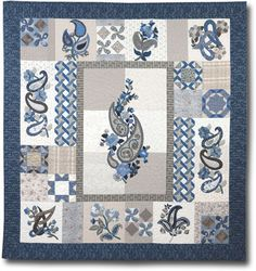 Rhapsody Block of the Month - Pretty...why do I always find these things too late?