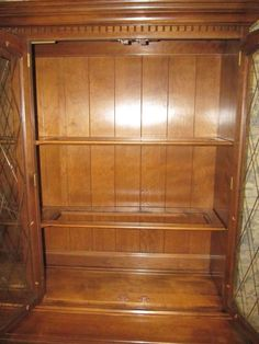ETHAN ALLEN CLASSIC MANOR BREAKFRONT, CHINA CLOSET CABINET, I Found This  One At Thriftstore For $160 Canadian, Painted It.