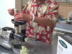 How to Make Sauerkraut using only Cabbage in the Omega 8006 Nutrition Center