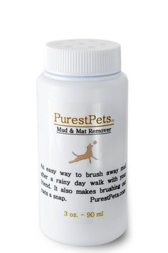 Mat Release Formula Grooming Powder Dogs and Cats by PurestPets, $11.00