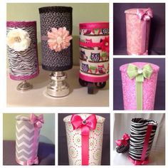 Headband holder- I can totally make these.