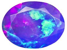 Aristata Ethiopian Opal(Tm) Average .65ct 8x6mm Oval