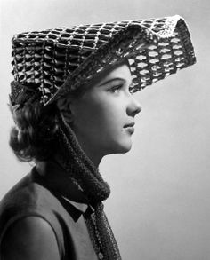The Milliner's Art, a survey of millinery in classic Hollywood. Anne Francis, film unknown