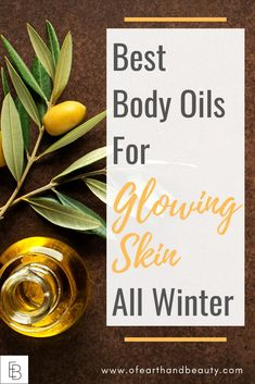 In the winter months, I also need extra support to keep my skin soft and supple. Here are my favorite body oils that are sure to keep your skin healthy and glowing all winter long. Natural Oils For Skin, Natural Skin Care, Natural Face, Organic Beauty, Organic Skin Care, Natural Beauty, Diy Skin Care, Skin Care Tips, Best Body Oil
