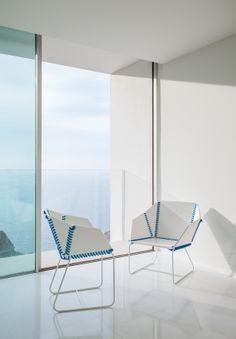 TEXTILE chair design Ana Llobet for @GANDIABLASCO