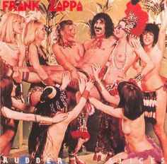 Frank Zappa  - Rubber Slices   I had never seen this album until I found it on Pinterest.