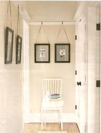 Ny Good Questions Best Way To Hang Art From Rail Molding For The