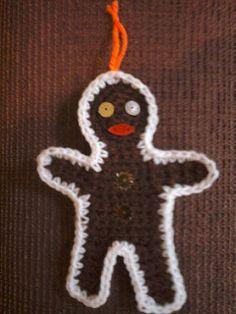 Ravelry: Gingerbread Man Decoration pattern by Jane McGrath