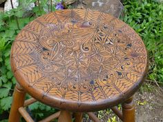 zentangle used to decorate furniture