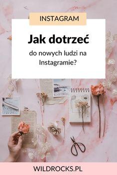 Social Media Tips, Online Marketing, Hand Lettering, Life Hacks, Place Card Holders, Bloom, Crafts, Instagram, Ideas