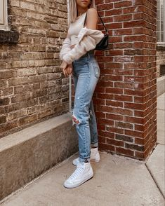 Nike Blazers Outfit, Blazer Outfits, Nike Outfits, Casual Outfits, Sneakers Fashion Outfits, Tomboy Fashion, Shoes Sneakers, Nike Looks, Nike Air Force 1