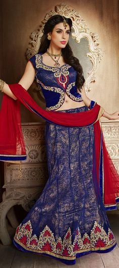 155226: Let #MondayBlues look beautiful.   #Lehenga #IndianWedding #IndianFashion #Partywear #Bridal #Bridesmaid #Onlineshopping
