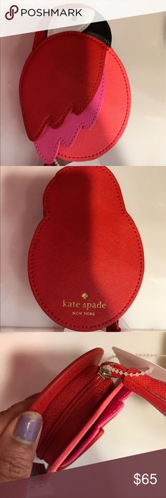 Kate Spade cute parrot money coin purse/bag/wallet Kate Spade New York parrot money coins bag/wallet/purse. Unfortunately I have to sell it because I don't use it and need the money. Only buy it if you take care of it please. kate spade Bags Wallets