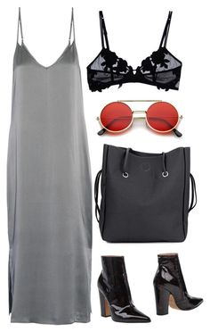 """""""Waves"""" by lovelydgessy ❤ liked on Polyvore featuring Equipment, Maison Margiela, ZeroUV and La Perla"""