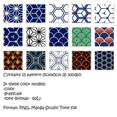 Chinese Patterns I.