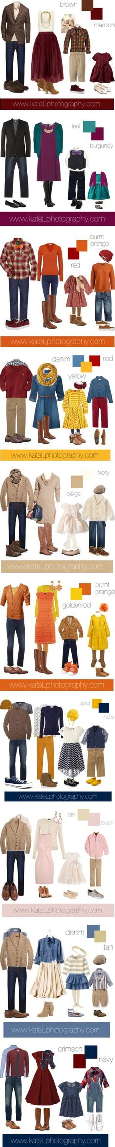 What to Wear for Fall Family Photos by katelphoto on Polyvore featuring мода, Alice + Olivia, G-Star Raw, Brooks Brothers, Rosantica, Wrangler, Tods, Report, Il Gufo and Tory Burch