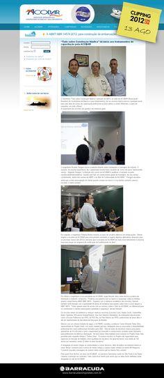 """::ACOBAR::  """"Tudo Sobre Construção Náutica"""" dá início aos treinamentos de capacitação pela ACOBAR  Acesse o link da matéria  http://acobar.org.br/index.php/novidades/325-clipping-seminario-acobar"""