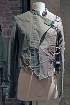 DUFFLE BAG JACKET with STRAPS by BARRACKS#Repin By:Pinterest++ for iPad#