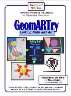 This collection of math-integrated art activity ideas offers many opportunities for students to use and interpret geometry vocabulary, apply their . Math Art, Fun Math, Maths, Art Lessons Elementary, Math Lessons, Art Activities, Activity Ideas, Math Projects, Math Crafts