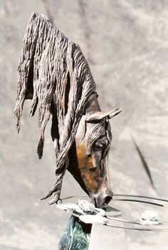 Douwe has produced some of the best sculptures of American Saddlebred horses. Bronze Sculpture by Douwe Blumberg