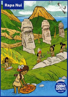 Material Didáctico: Pueblos originarios de Chile Indigenous Knowledge, Tourism Poster, Easter Island, Teaching Spanish, Social Studies, South America, Homeschool, Culture, Education