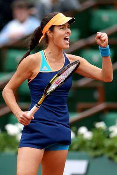 Ana Ivanovic on Day5 at Roland Garros May 29-2014 #WTA #Ivanovic #RolandGarros