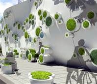 Replacing Ugly Construction Site Barriers with Beautiful Living Green Walls Symbiotic Green Wall – Inhabitat - Green Design, Innovation, Architecture, Green Building Green Architecture, Futuristic Architecture, Landscape Architecture, Landscape Design, Garden Design, Sustainable Architecture, Contemporary Architecture, Vegetal Concept, Living Green Wall