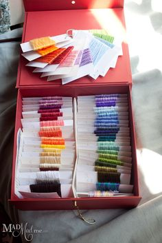 Choosing Colors and Making Your Own Sampler or My OCD Ring  Mad Mad me