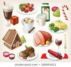 แฟ้มผลงานภาพถ่ายและภาพสต็อกโดย Volha Shaukavets | Shutterstock Dessert Drinks, Dessert Recipes, Desserts, Traditional Christmas Food, Salmon Eggs, Food Clipart, Tasty, Yummy Food, Free Fonts Download