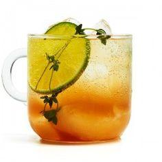 Rosemary-Tangerine Cooler Recipe - Bon Appétit
