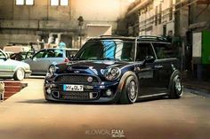 Mini Cooper Clubman Coopers Classic Slammed Dream Cars Britain Motorcycles Trucks Belle