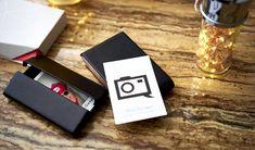 Крутая визитка с чипами NFC