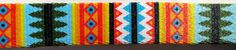 """Summer Pine Southwest Native American Geometric Colorful 1"""" Dog Collar (Large, Medium Plus, Medium) Unique Dog Collars, Nativity, Native American, Beast, Trending Outfits, Unique Jewelry, Handmade Gifts, Vintage, Color"""