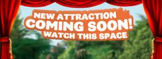 New attraction coming soon to Rainbow Springs Kiwi Wildlife Park & Kiwi Encounter! What do you think it could be? Watch this space!