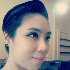 Pixie cut # scumbag# mongoloid hair art