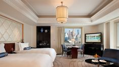 The Peninsula Hotel, Shanghaï Normandie Armchair , Rhulmann Chair Peninsula Shanghai, Peninsula Hotel, Guest Suite, Apartment Interior, Hotel Spa, Guest Room, Master Bedroom, Ceiling Lights, Travel Ideas